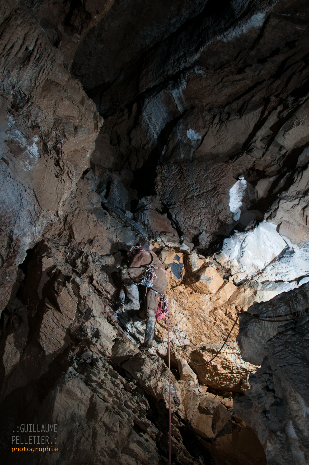 Rob bolt climbing in El Chupadero. Photo Guillaume Pelletier